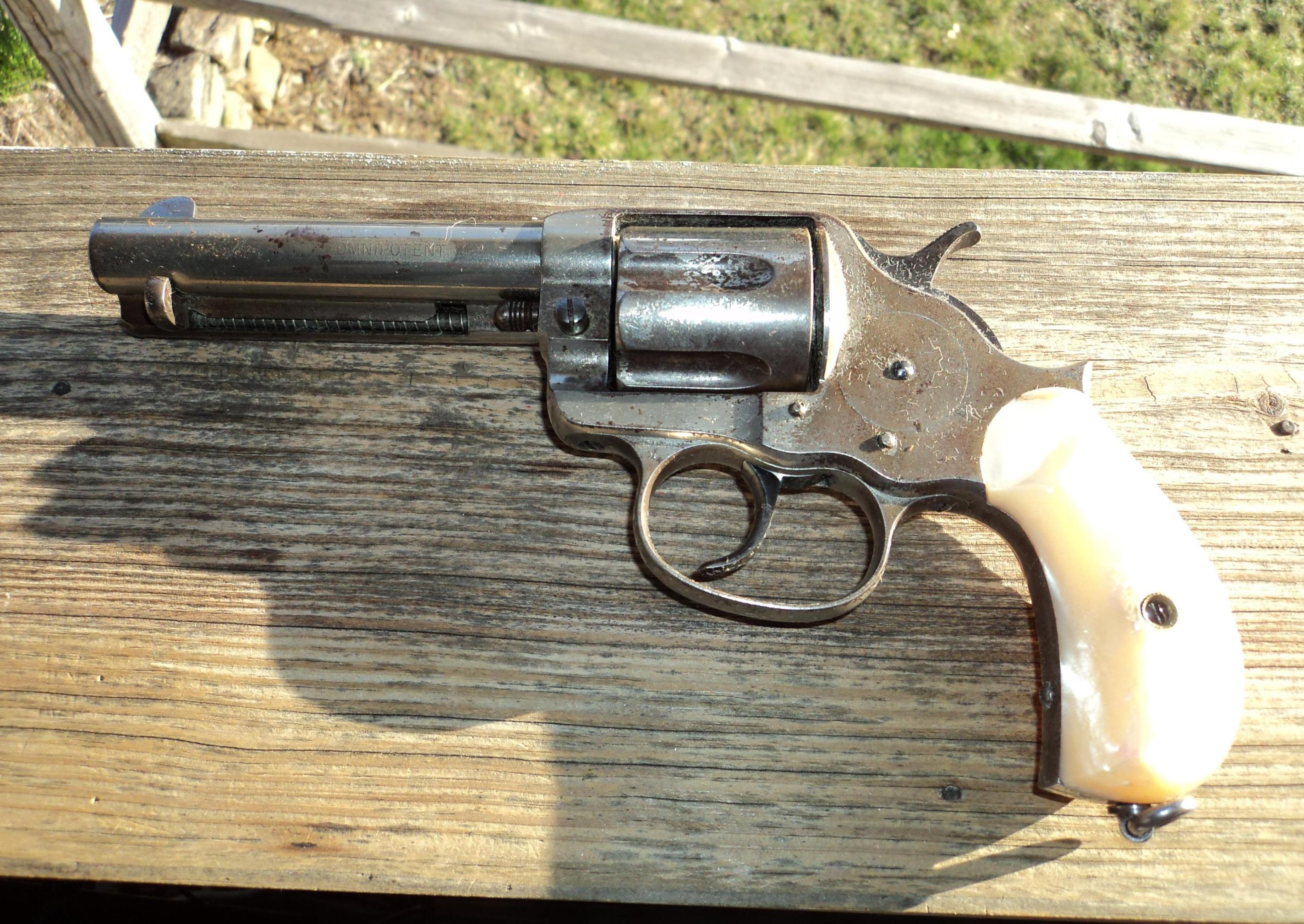 Very rare colt model 1878 Omnipotent